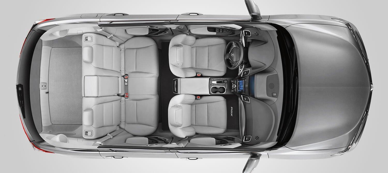 2018 Acura RDX Interior Overhead Angle