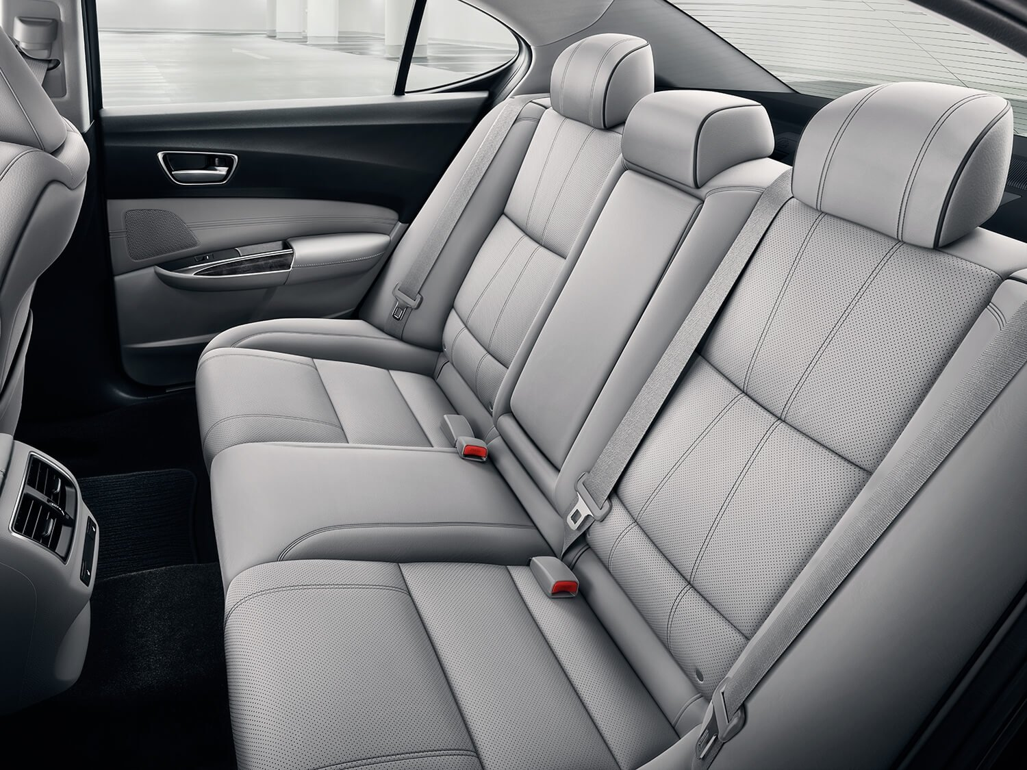 2018 Acura TLX Interior Rear Seating