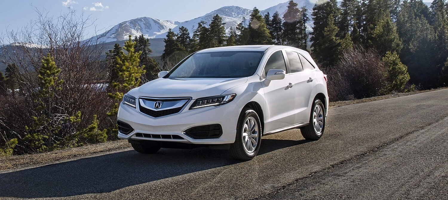2018 Acura RDX Exterior Front Driver Side Mountains