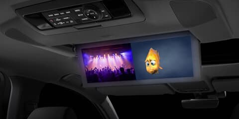 2018 Acura MDX Dual-Screen Rear Entertainment System