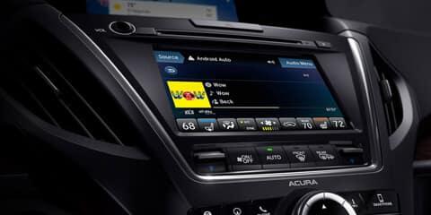 2018 Acura MDX On Demand Multi-Use Display