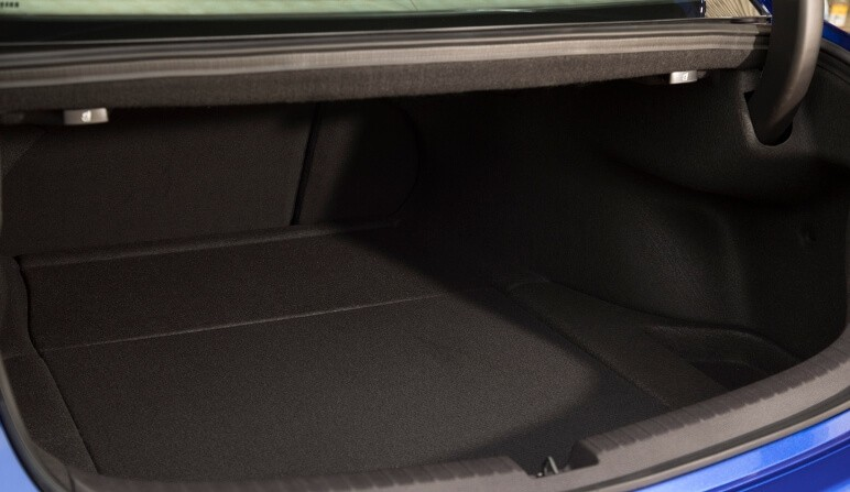 2018 Acura TLX trunk space