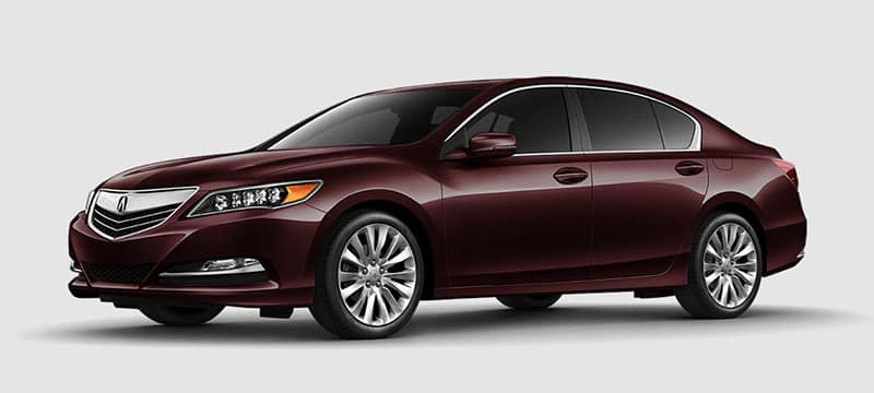 2017 Acura RLX Red