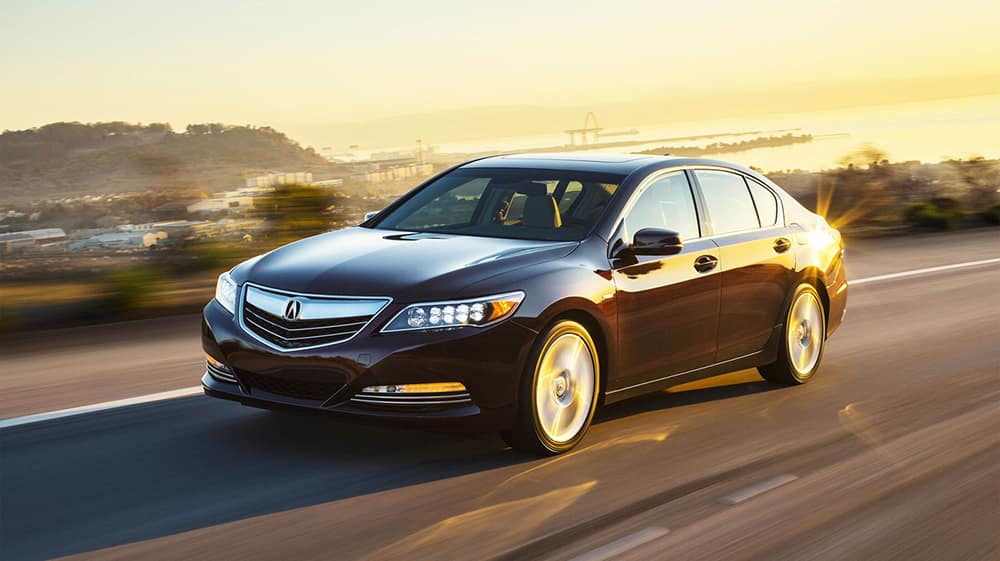 2017 Acura RLX Driving