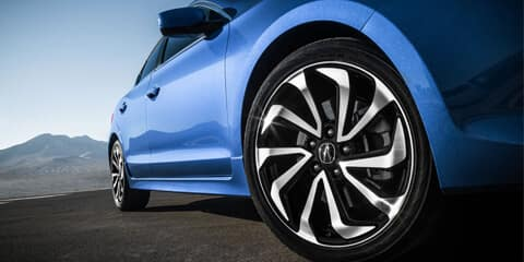 2018 Acura ILX 18-Inch Alloy Noise-Reducing Wheels