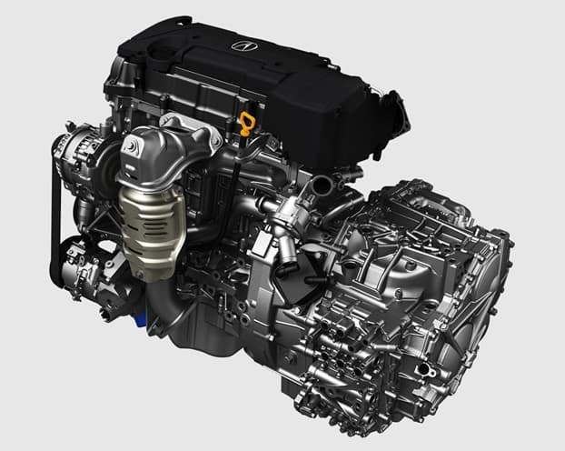 2018 Acura TLX 4 Cylinder