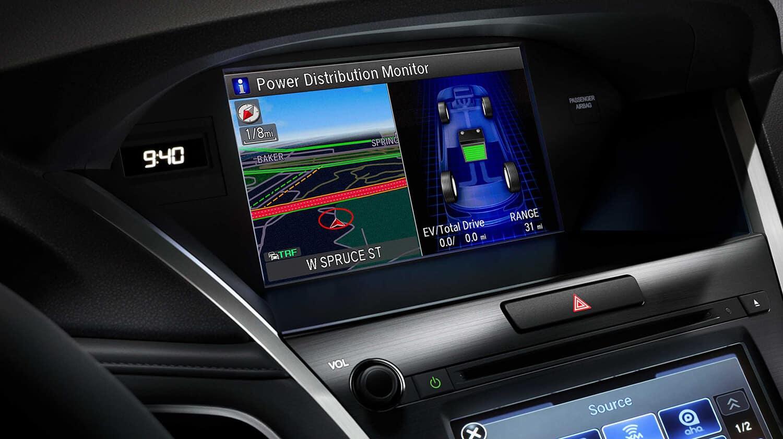 2018 Acura RLX Interior Navigation