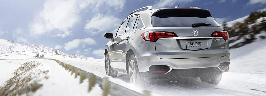 Explore The Array Of Acura RDX Winter Accessories - Acura accessories rdx