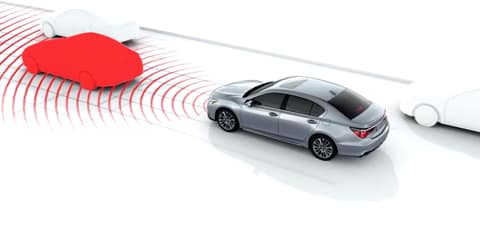 2018 Acura RLX Collision Mitigation Braking System