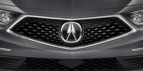 2018 Acura RLX Diamond Pentagon Grille