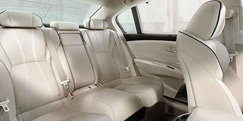 2018 Acura RLX Rear Legroom