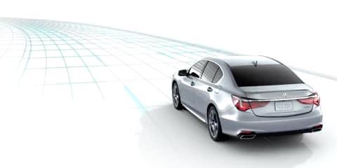 2018 Acura RLX Road Departure Mitigation
