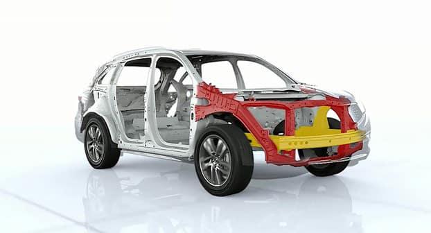 2018 Acura MDX Structure