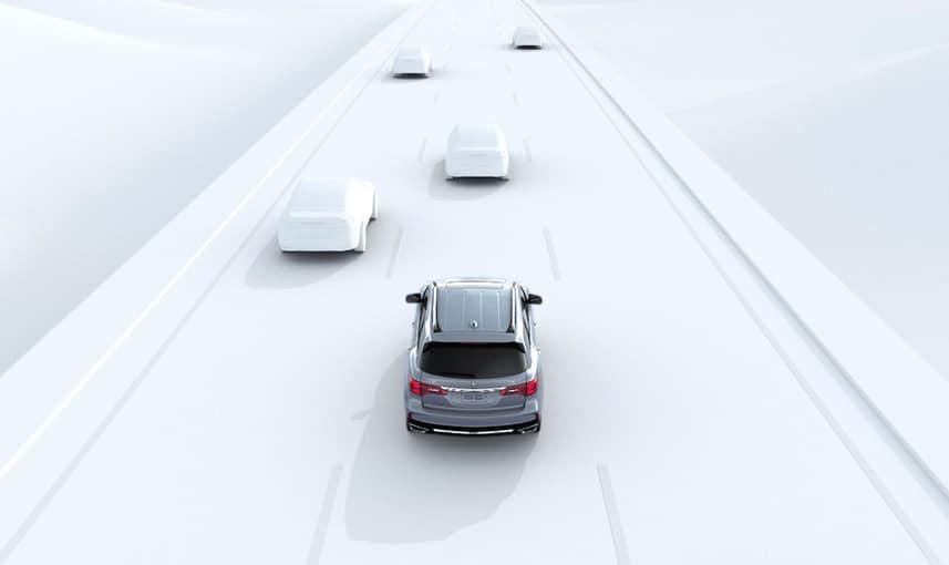 2018 Acura MDX Traffic