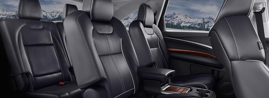 What Is The Seating Capacity Of The Acura MDX - Acura mdx seat covers