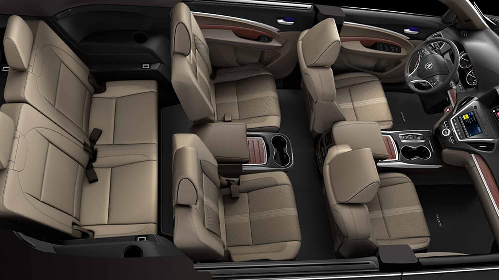 What Is the Seating Capacity of the 2018 Acura MDX?