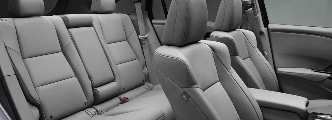2018 Acura RDX Gray Seats