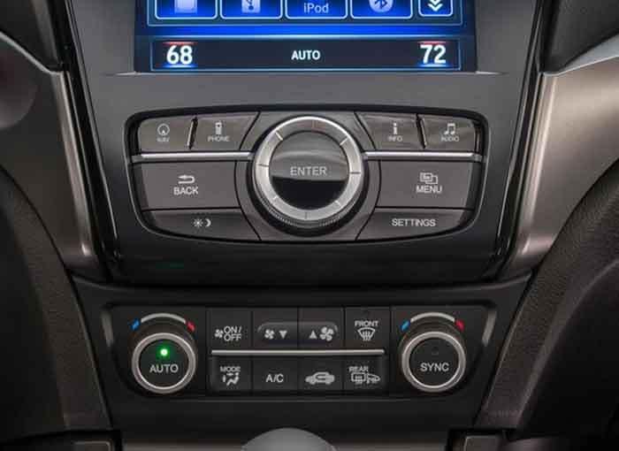 2018 Acura ILX Automatic Climate Control