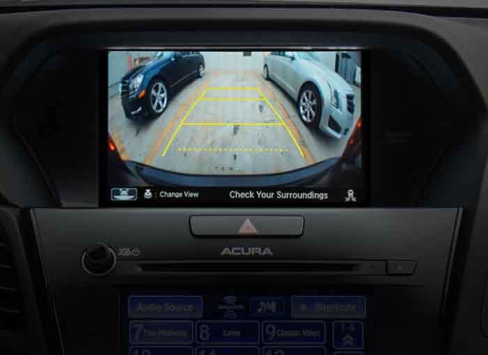 2018 Acura ILX Rearview Camera