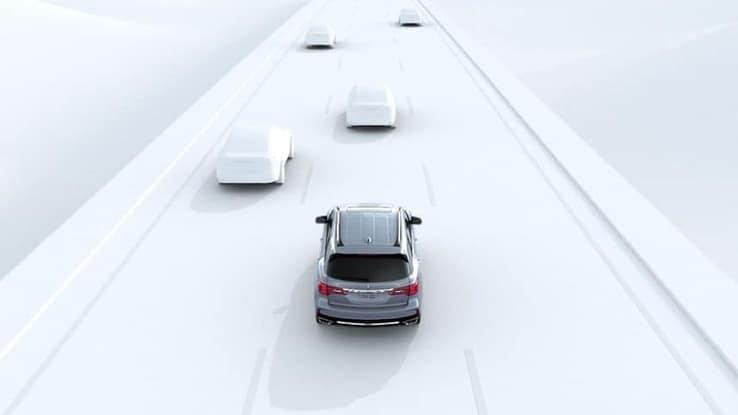 2018 Acura MDX Lane Keep Feature