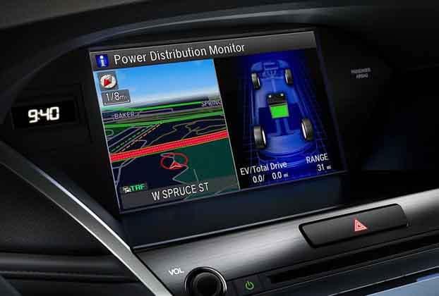 2018 Acura RLX Navigation System