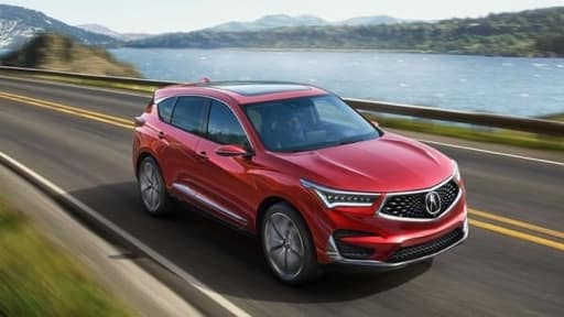 2019 Acura RDX on the road