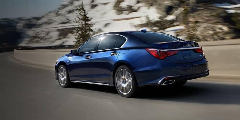 2018 Acura RLX Agile Handling Assist