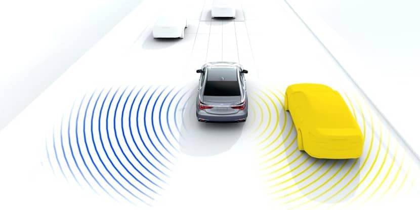 2018 Acura RLX Blind Spot System