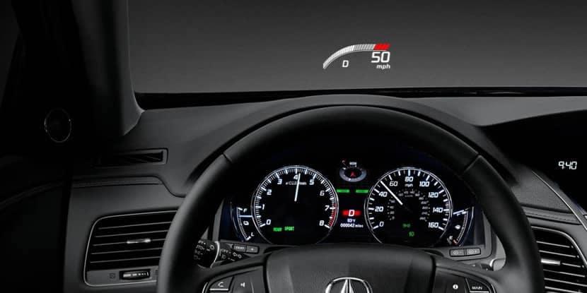 2018 Acura RLX Heads-Up Display