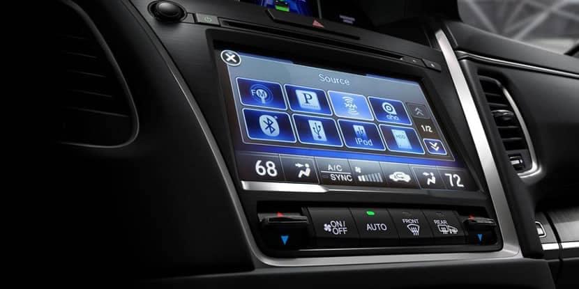 2018 Acura RLX Multi-Use Display
