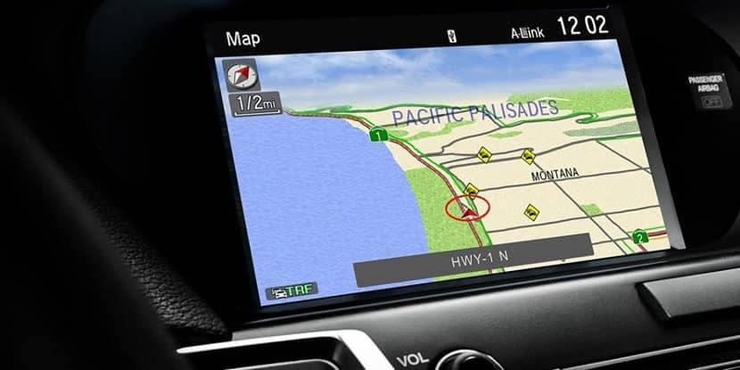 2018 Acura RLX Acura navigation