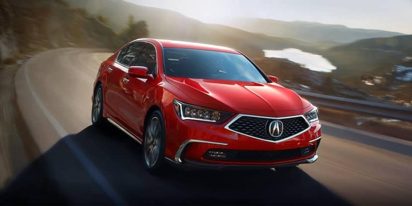 2018 Acura RLX Vehicle Stability