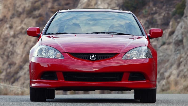 2005 RSX Type S Front Exterior