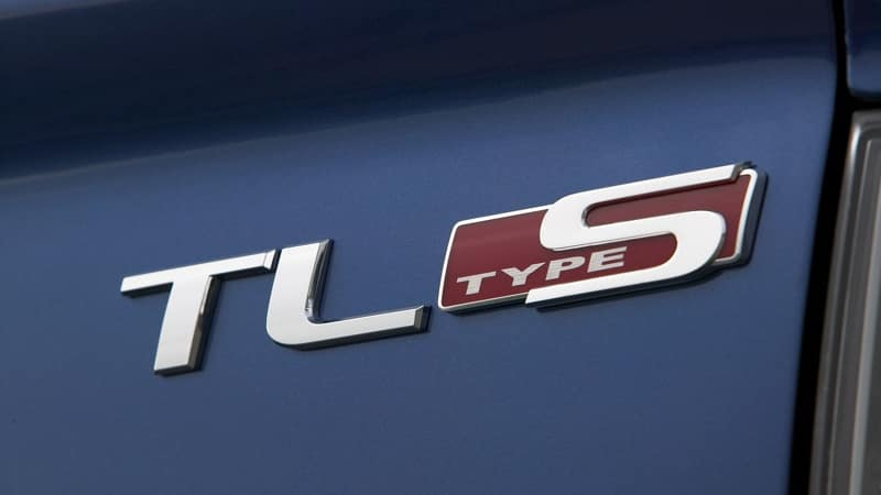 2008 Acura TL exterior up close