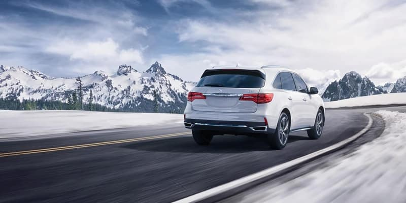 2018 Acura MDX rear view