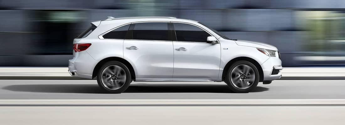 2018 Acura MDX Hybrid Driving