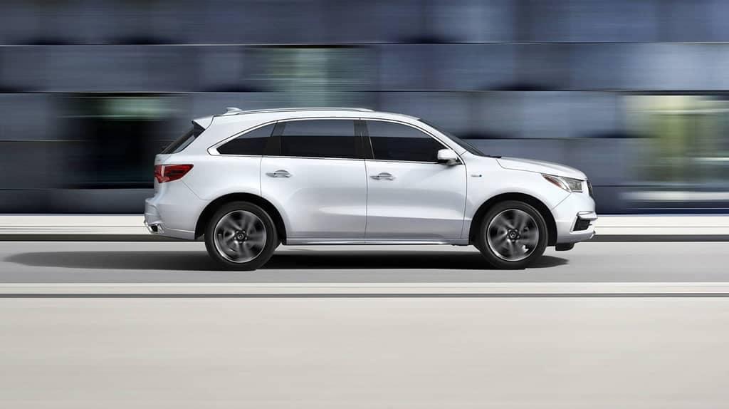 2018 Acura MDX White
