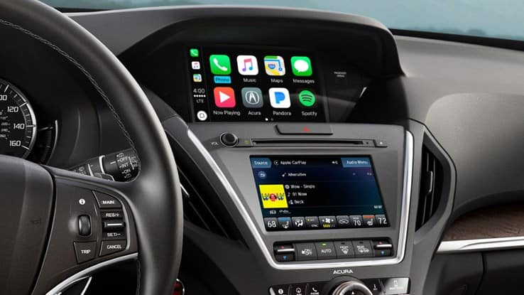 2018 Acura MDX Touchscreens
