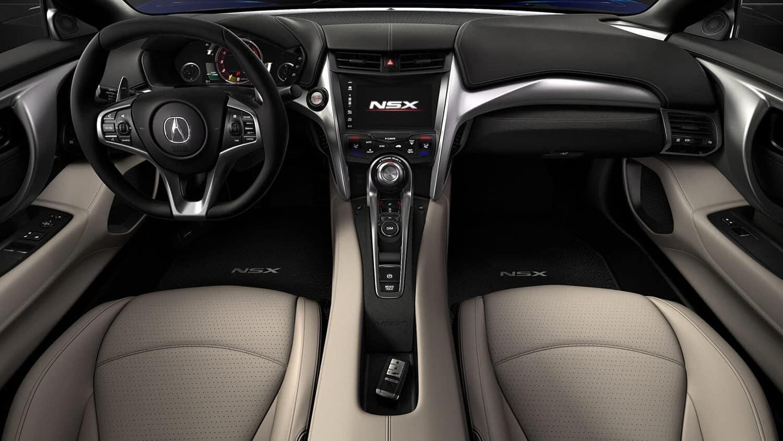 2018 Acura NSX Interior Cockpit