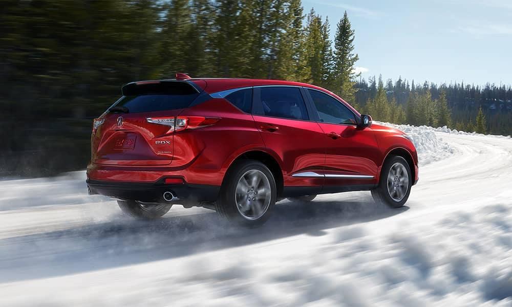 2019 Acura RDX Snow Driving