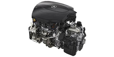 2019 Acura TLX V-6 P-AWS Powertrain