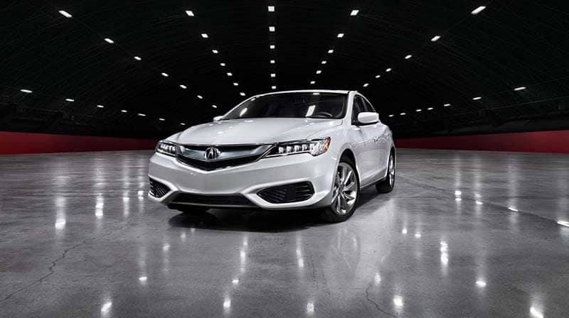 2018 Acura ILX parked on concrete floor