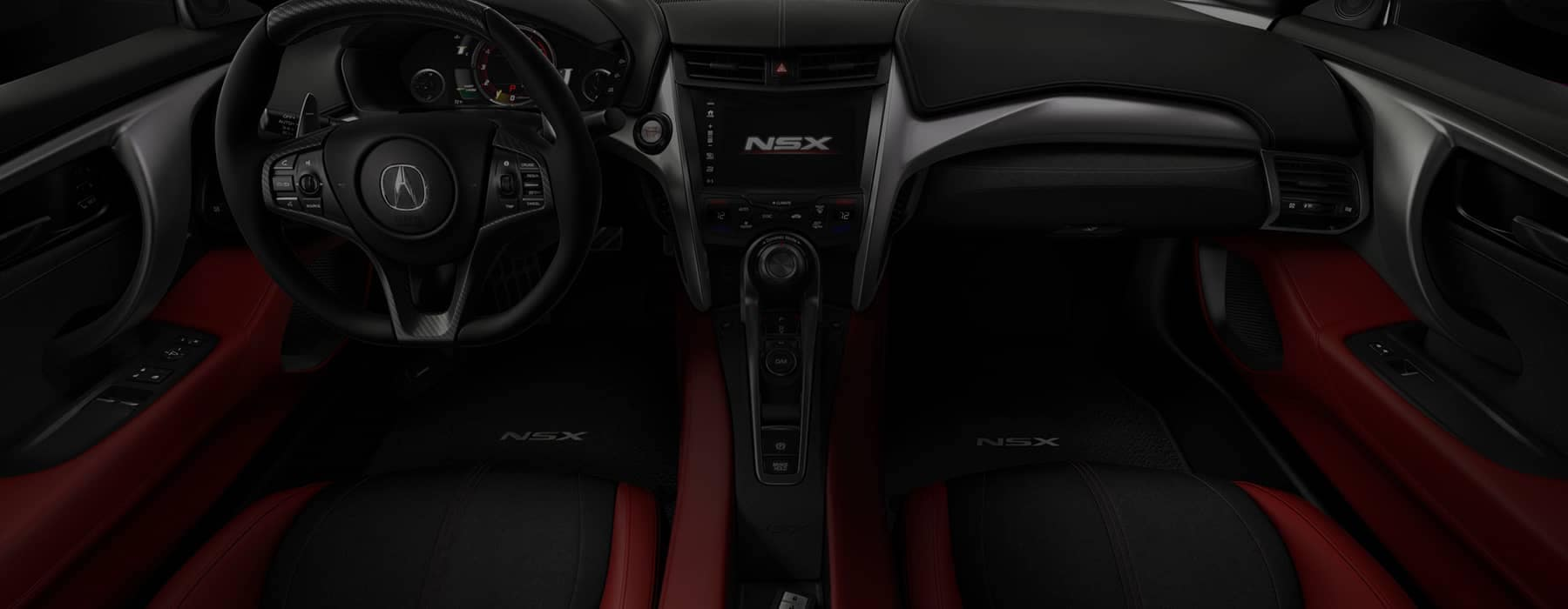 2018 Acura NSX Cabin