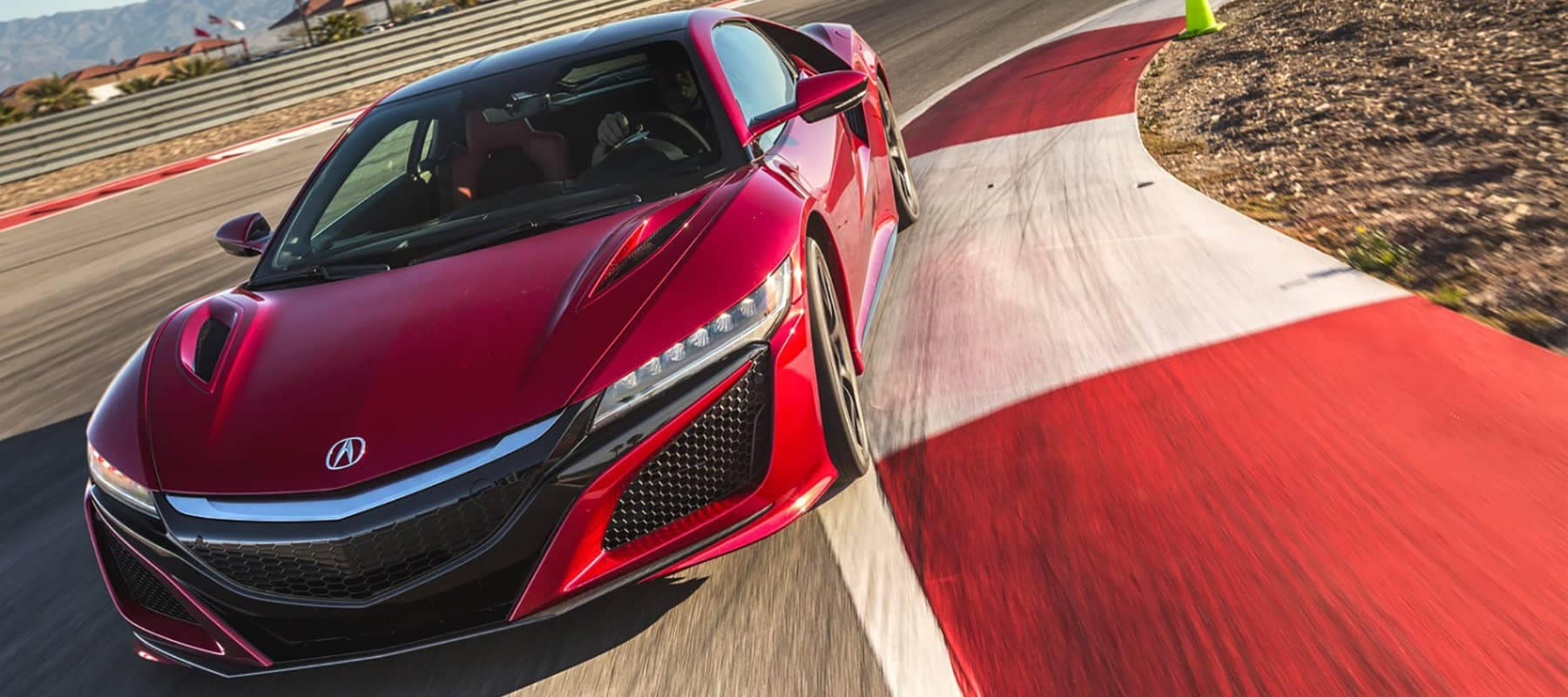 2018 Acura NSX On Track
