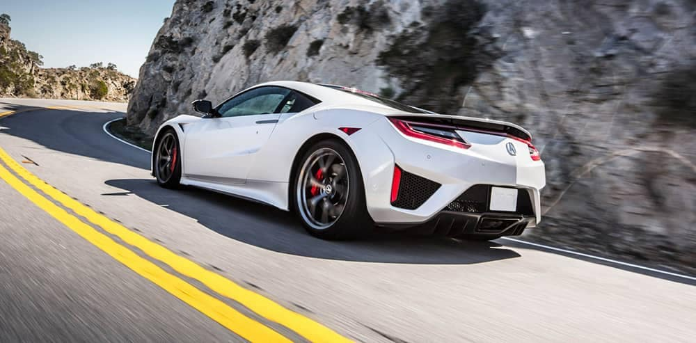 2018 Acura NSX Driving