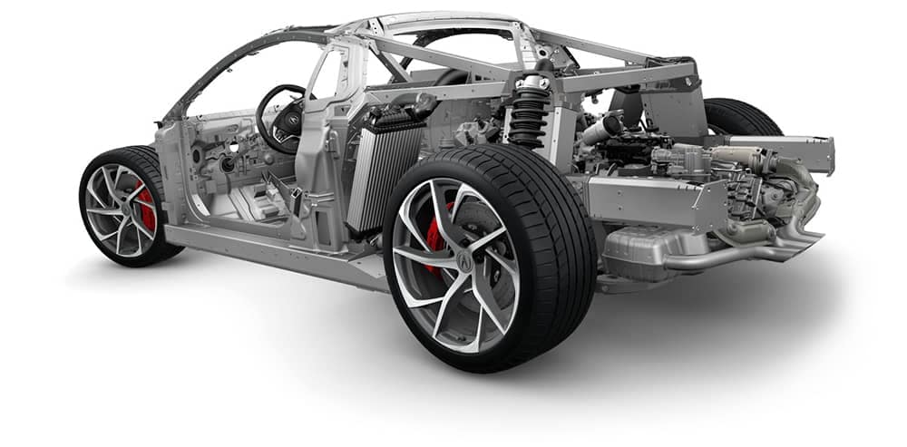 2018 Acura NSX Structure