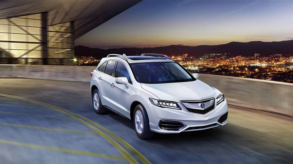2018 Acura RDX with Roof Rail Accessory