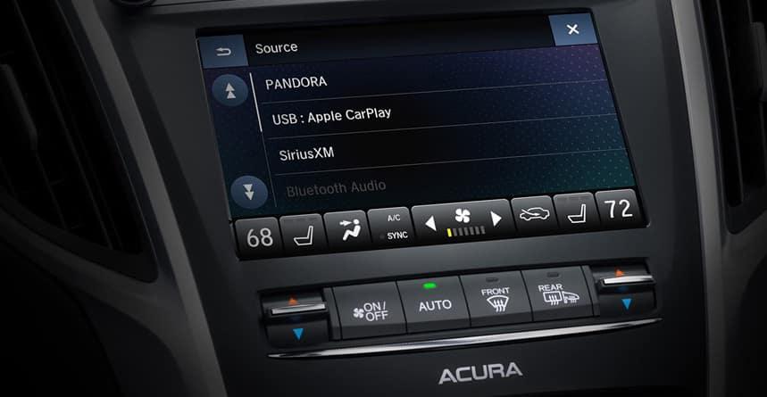 2019 Acura TLX Touchscreen