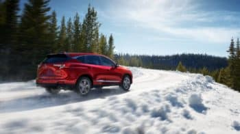 2019 Acura RDX Safety In Winter