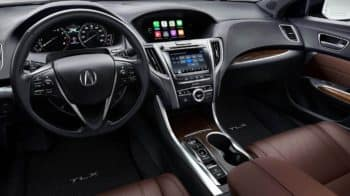 2019 Acura TLX Interior Hero